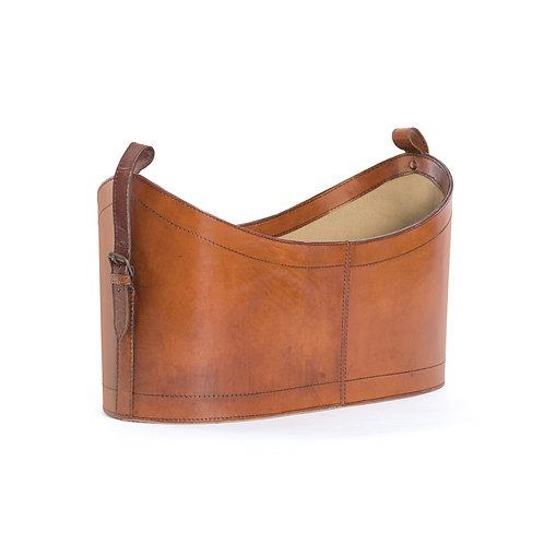 Premium Leather Magazine Bucket