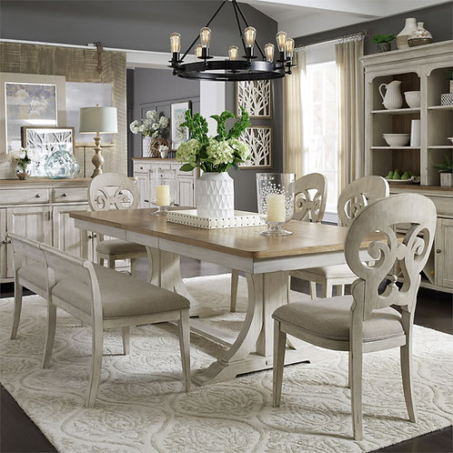 Reimagined Farmhouse Dining Collection