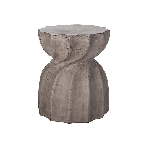 Twisted Concrete Stool