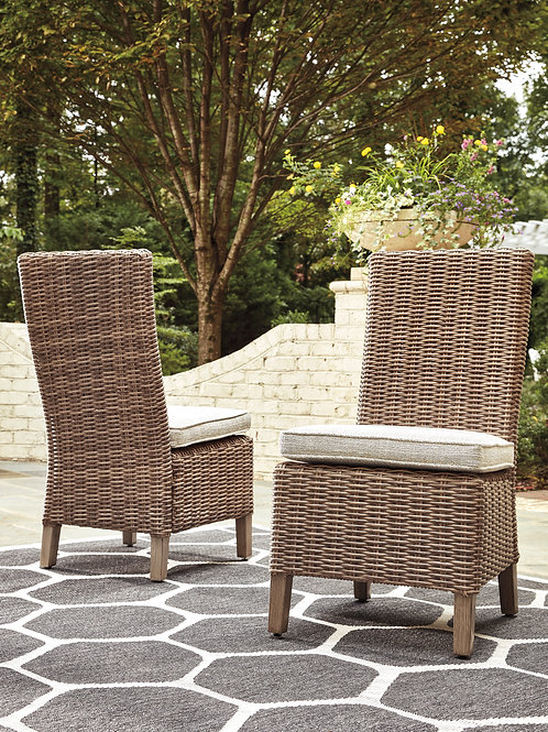 Beach Outdoor Side Chair, Set of 2