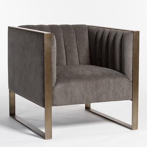 Storm Brass Accent Chair