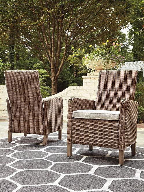 Beach Outdoor Arm Chair, Set of 2
