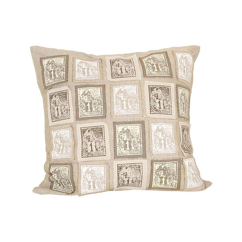 Hudson Stamp 20x20 Pillow
