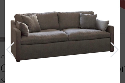Charcoal Contemporary Comfy Sofa