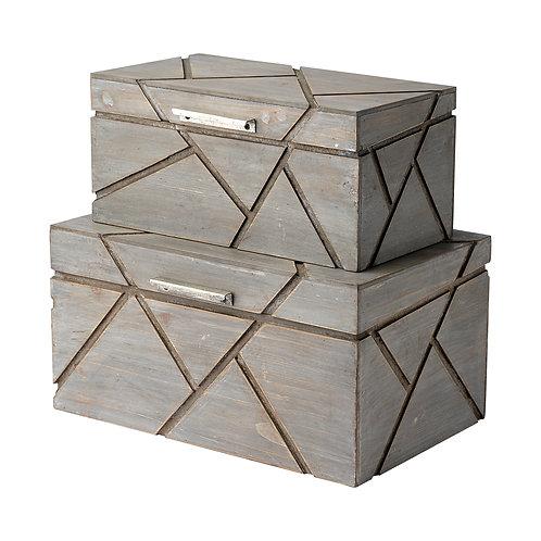 Niobe Boxes, Set of 2