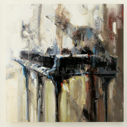 Piano Canvas Wall Art