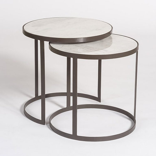 Beverly Marble Nesting Tables