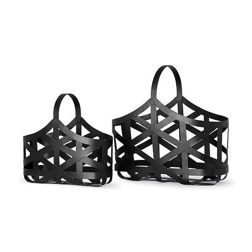 Metal Baskets, Set of 2