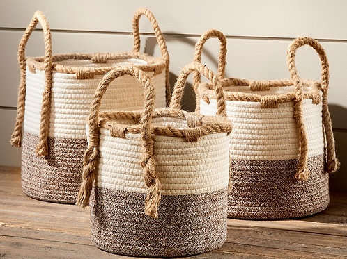 Rope Baskets