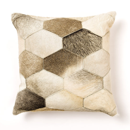 Genuine Leather Hide Pillow