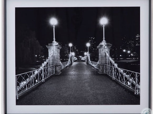 Bridge Night Passage Wall Art