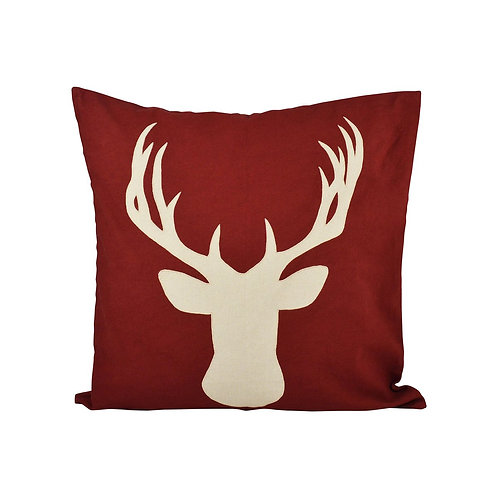 Red Deer Pillow