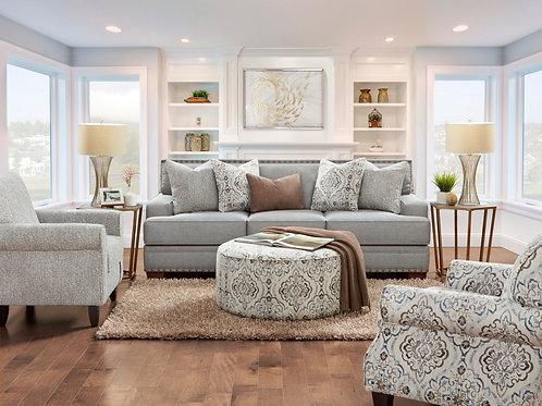 Bates Charcoal Sofa Collection