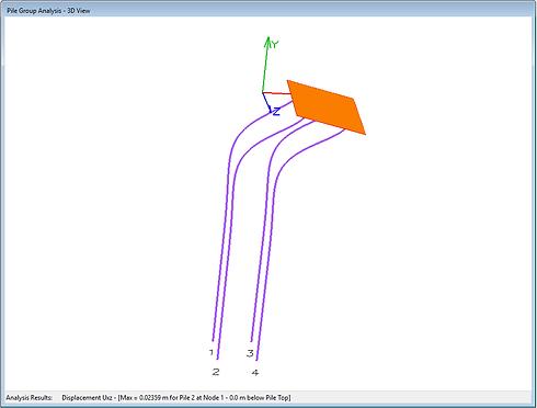 PileGroup - Pile Group Analysis   Pile Design Software