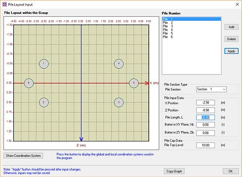 PileGroup - Pile Group Analysis | Pile Design Software