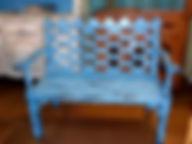 Эффект потертости на мебели