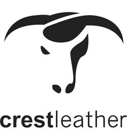 crest leather logo