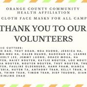Face Masks Campaign
