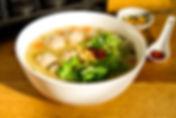 Khao Tom (Soupe au riz thaïe)