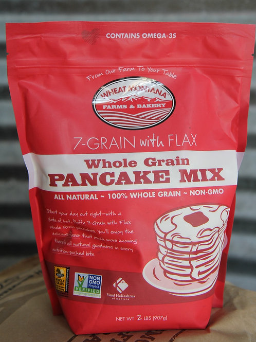 7 Grain Pancake Mix With Flax Seed