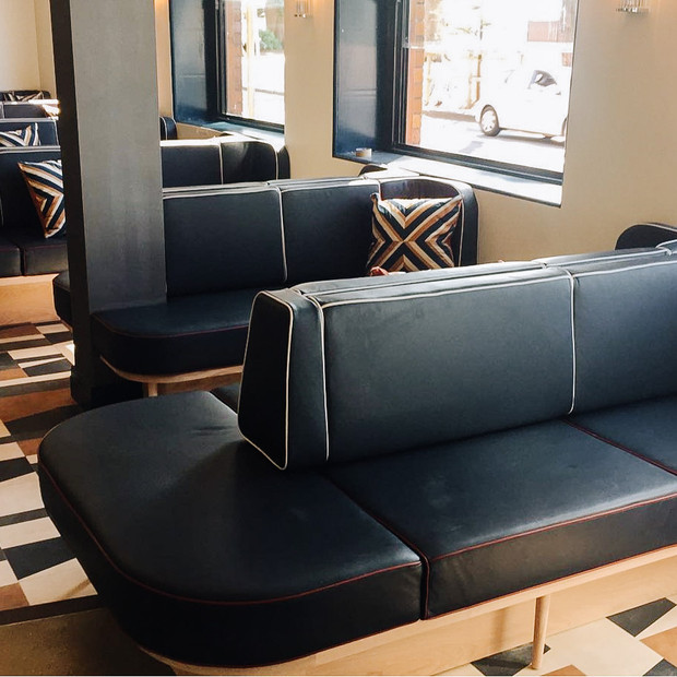 Hotel Steyne, Manly NSW- Leather Upholstery Seating