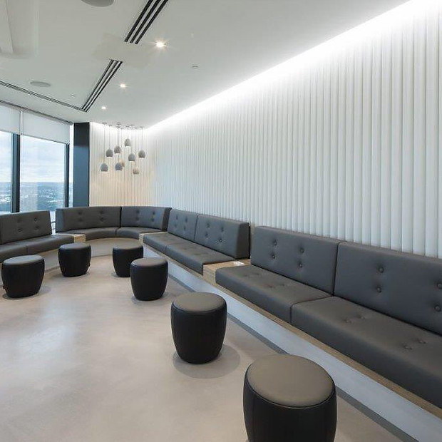 Pacific Life- Custom seating and stools