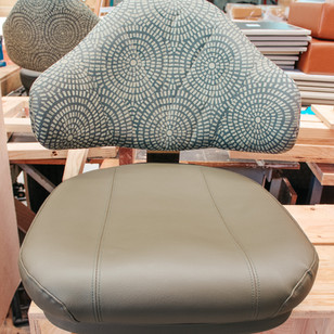 Fairfield RSL- Deep clean & re-upholstered gaming stools