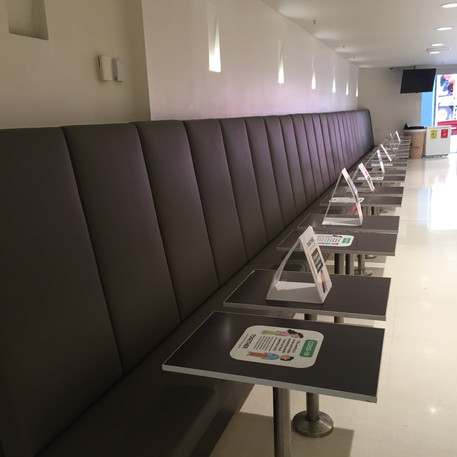 MetCentre Sydney- Custom banquette seating