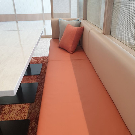Tradies Caringbah- Custom seating