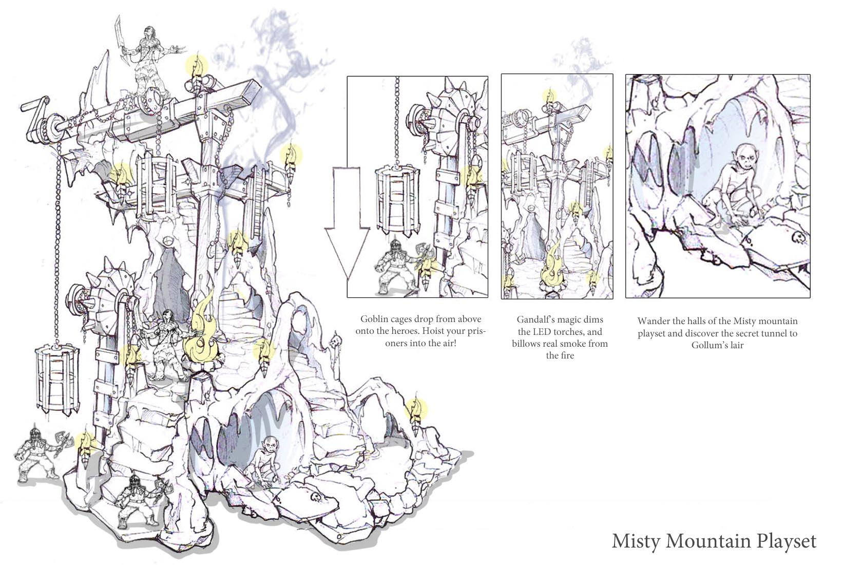 Misty mountian goblin Playset.jpg