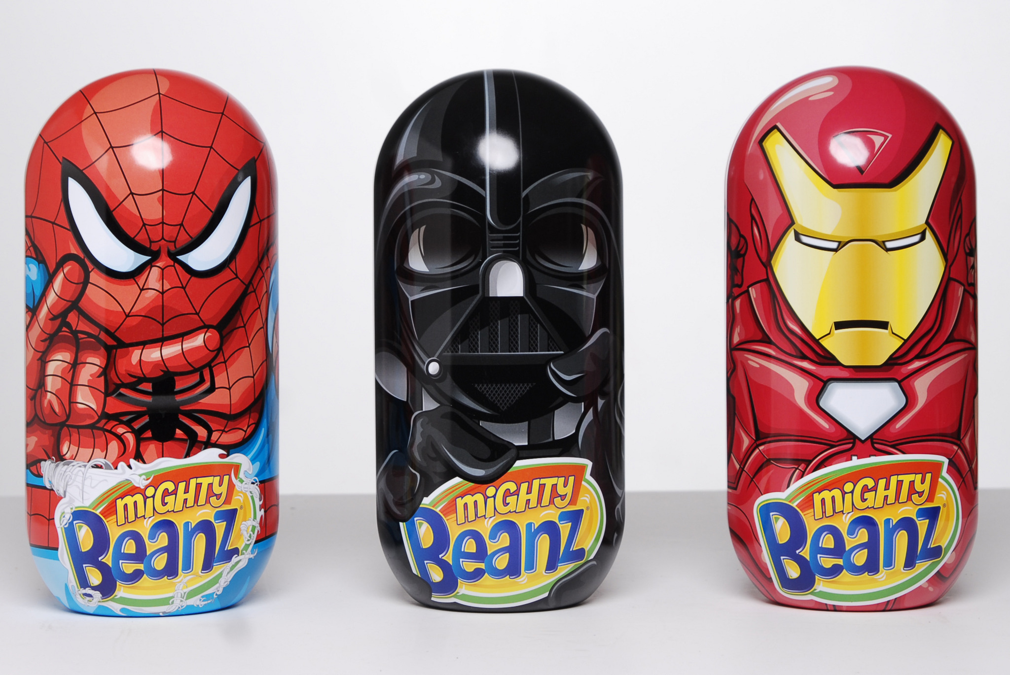 Licensed Mighty Beanz Tins