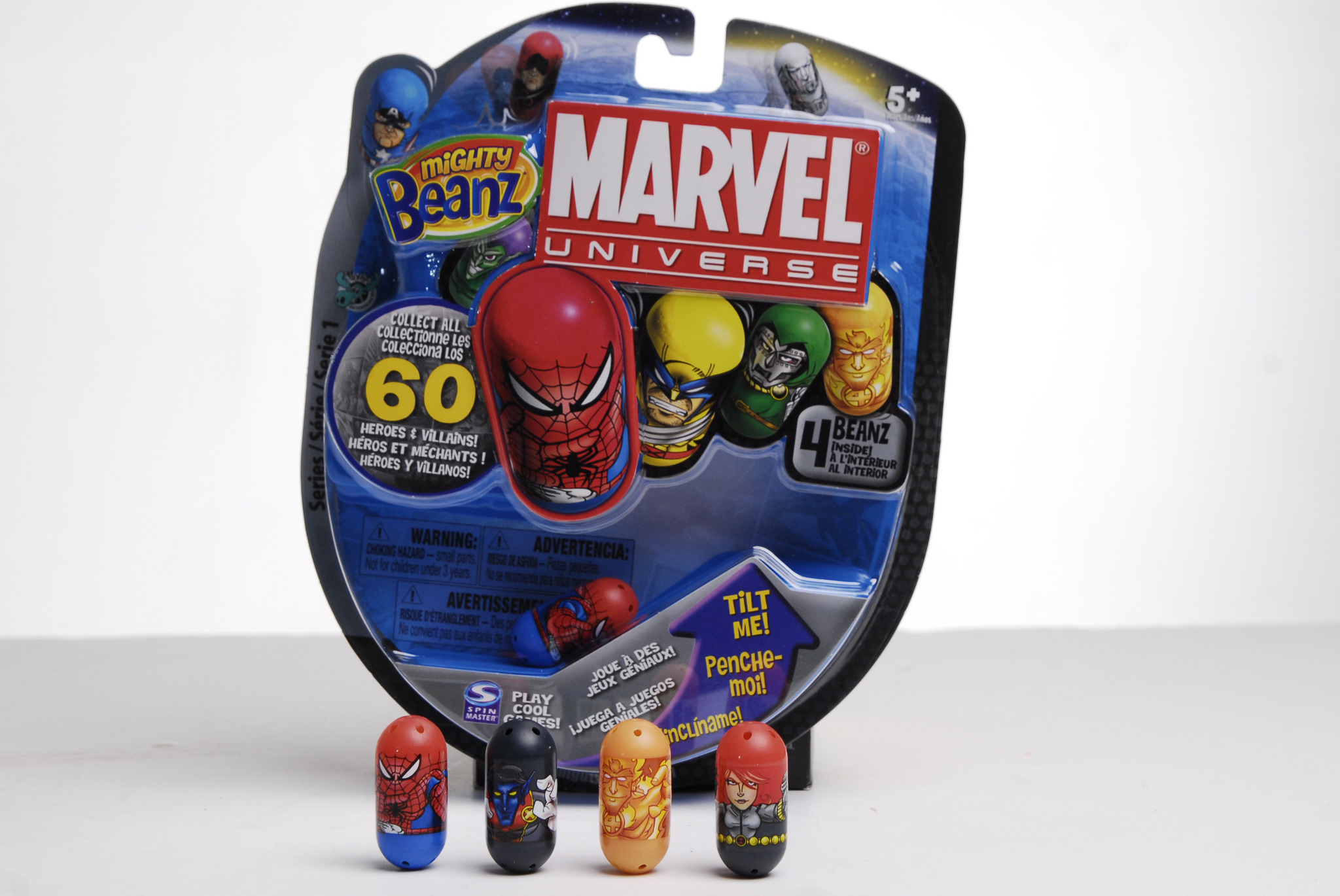 Marvel Mighty Beanz
