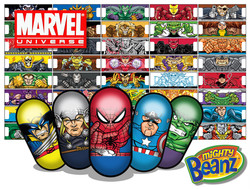 Marvel Mighty Beanz