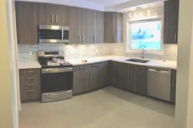 Full kitchen and bathroom renovation