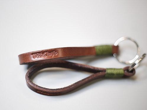 Leather Keychain Lanyard