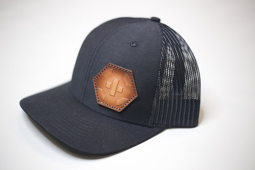 CVT- Black/Black Richardson 112 Snapback