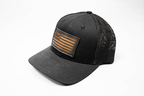 TWA - Black/Black Flag Richardson 110 Hat