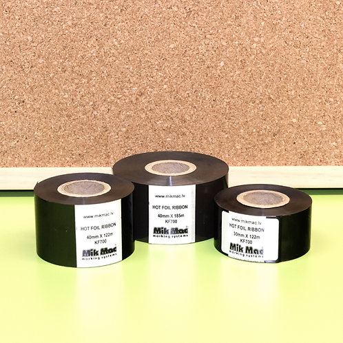 Hot Foil KF7000 25mm X 122m Black