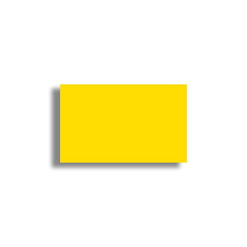 K 26x16mm 1000 gab. Marķešanas etiķetes Permanent Krasainas YELLOW, papīrs