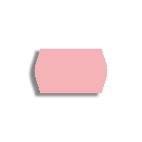 V 26x16mm 1000 gab. Marķešanas etiķetes Permanent Krasainas PINK, papīrs