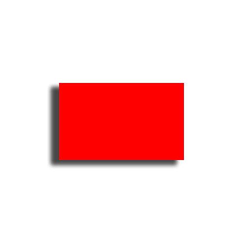 K 26x16mm 1000 gab. Marķešanas etiķetes Permanent Fluorescentas RED, papīrs