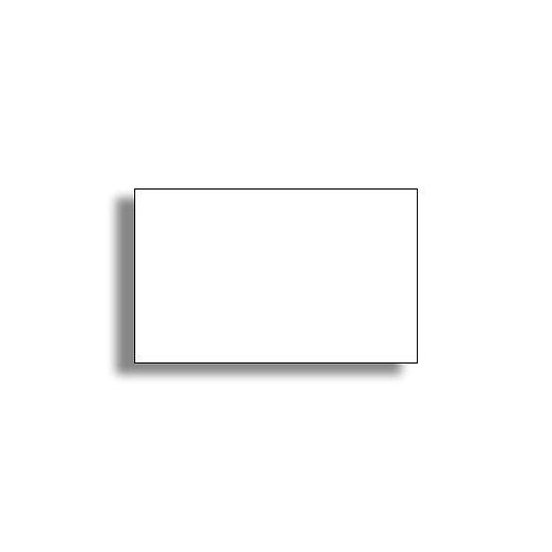 K 26x16mm 1000 gab. Marķešanas etiķetes Removable Baltas LABELS OUT, papīrs