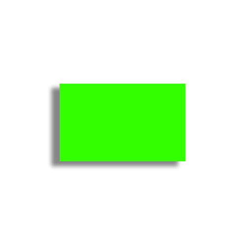 K 26x16mm 1000 gab. Marķešanas etiķetes Permanent Fluorescentas GREEN, papīrs