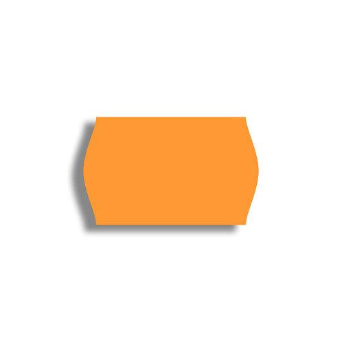 V 26x16mm 1000 gab. Marķešanas etiķetes Permanent Fluorescentas ORANGE, papīrs