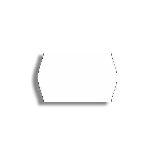 V 26x16mm 1000 gab. Marķešanas etiķetes Removable Baltas, papīrs