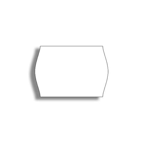 26x18mm 1000 gab. Marķešanas etiķetes Permanent Baltas, papīrs