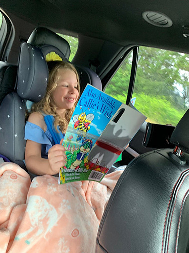 You can read it in a car, you can read upon a star!