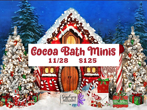 Nov 28th Cocoa Bath Minis
