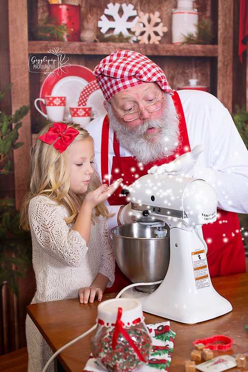 November 27th cookies with Santa experience