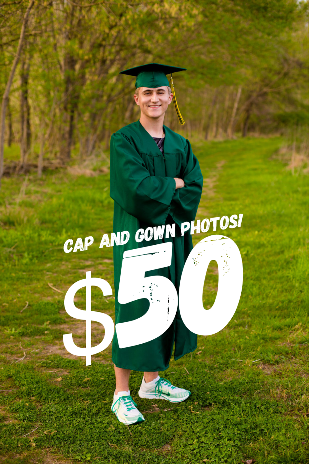 Cap and gown session